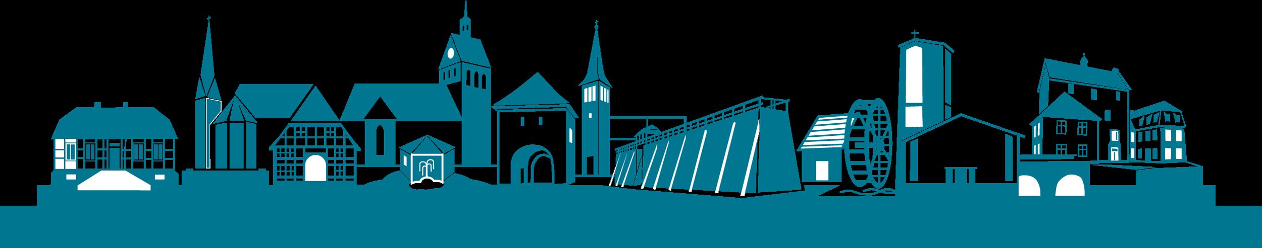 StadtSilouette Salzkotten