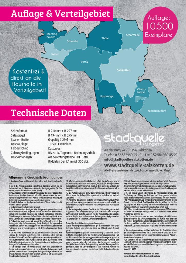 Mediadaten Stadtquelle
