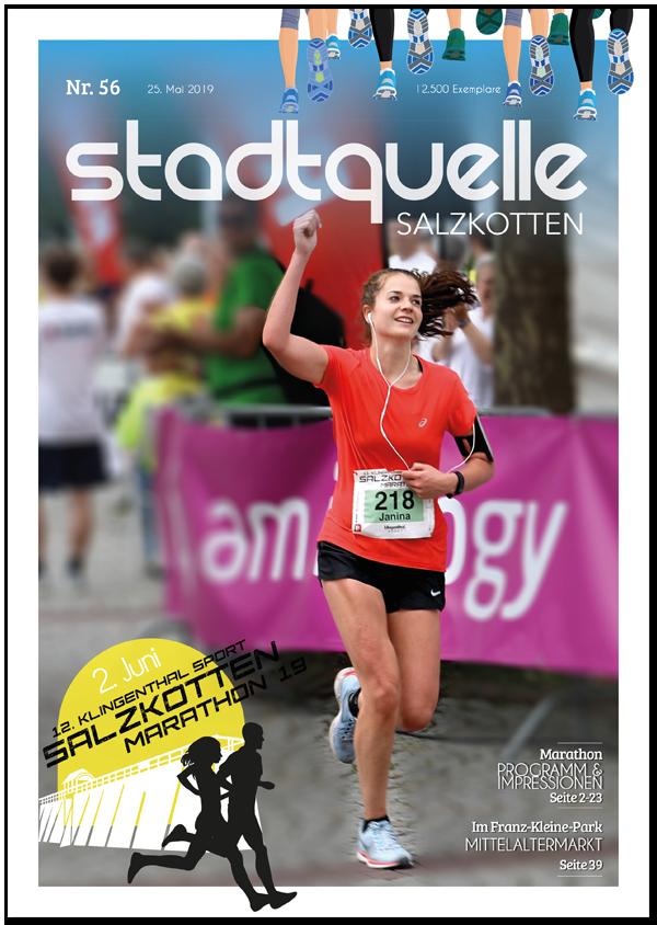 Titel Stadtquelle Ausgabe 56 - Marathon